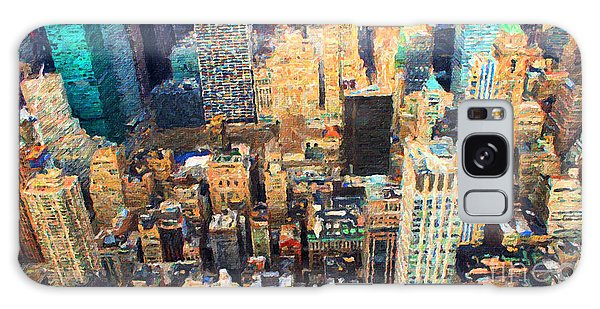 New York, New York Galaxy Case by Chris Armytage