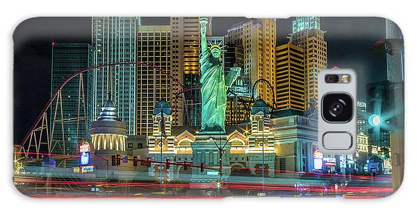 Galaxy Case featuring the photograph New York New York by Michael Rogers