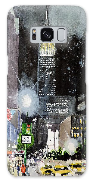 New York Night Galaxy Case by Tom Riggs