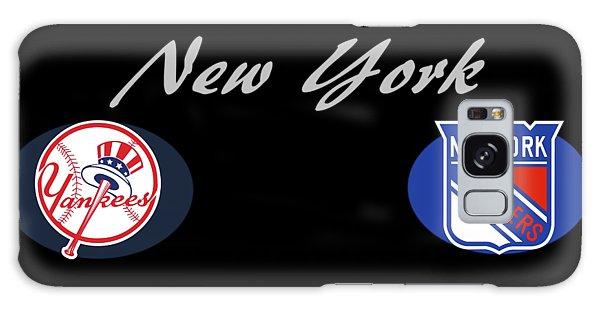 New York Professional Sport Teams Collage  Galaxy Case