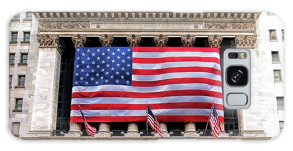 New York Stock Exchange Flag Galaxy Case