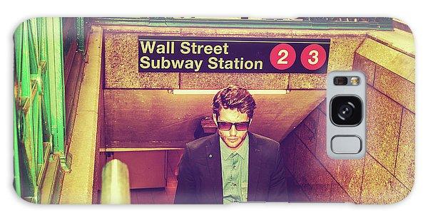 New York Subway Station Galaxy Case