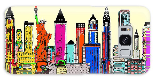 New York - The Big City Galaxy Case