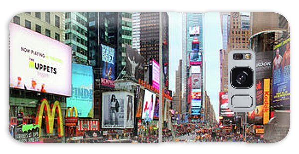 New York Times Square Panorama Galaxy Case