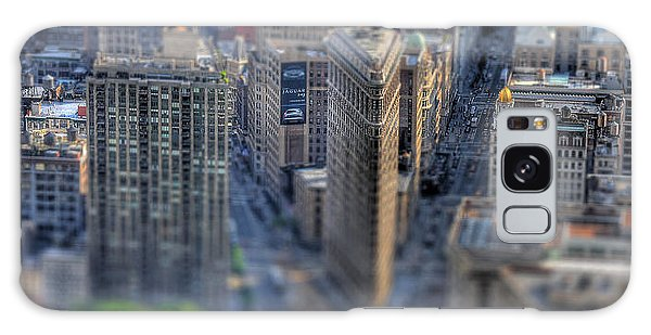 New York Toy Story - Flatiron Building Galaxy Case by Don Mennig