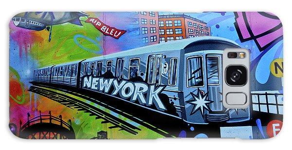 New York Train Galaxy Case