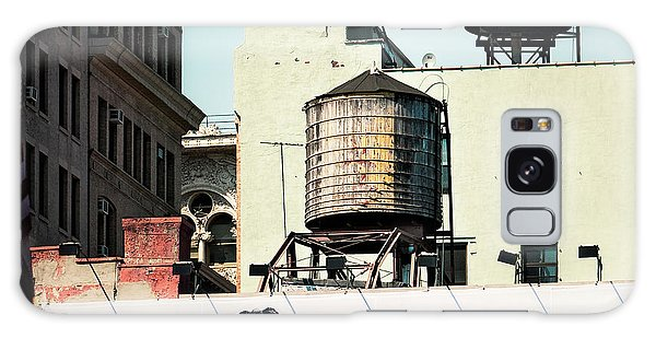 Galaxy Case featuring the photograph New York Water Towers 15 by Gary Heller