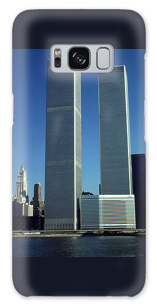 New York World Trade Center Before 911 - Architecture Galaxy Case by Art America Gallery Peter Potter