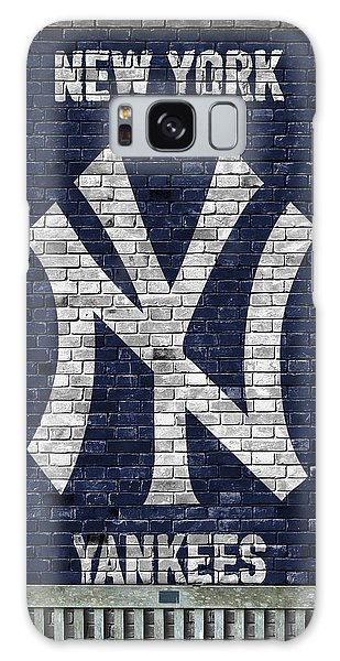 New York Yankees Brick Wall Galaxy Case