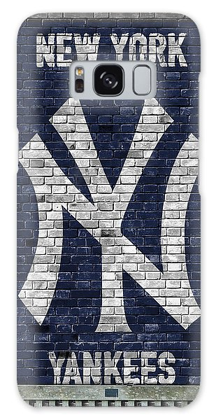 Baseball Galaxy Case - New York Yankees Brick Wall by Joe Hamilton