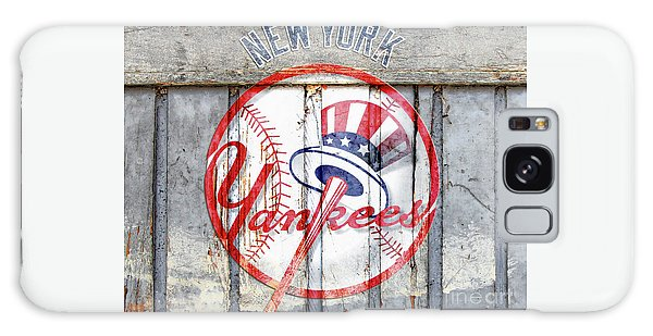 New York Yankees Top Hat Rustic Galaxy Case