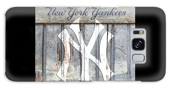 New York Yankees Rustic Galaxy Case