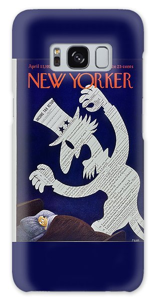 New Yorker April 11 1959 Galaxy Case