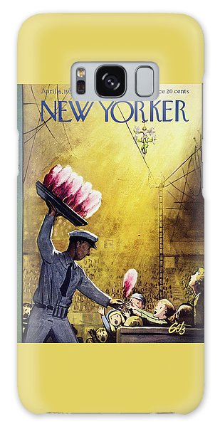 New Yorker April 6 1957 Galaxy Case