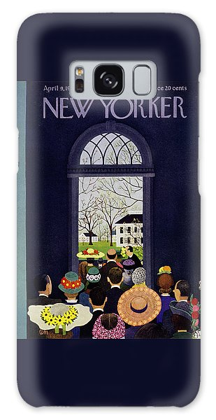 New Yorker April 9 1955 Galaxy Case