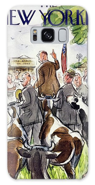 New Yorker August 23 1952 Galaxy Case