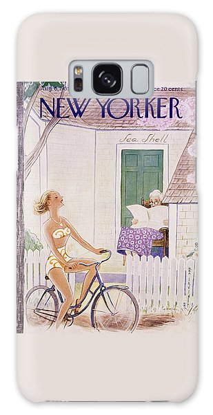 New Yorker August 6 1955 Galaxy Case