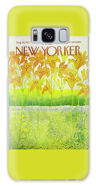 New Yorker Cover August 26 1972  Galaxy Case