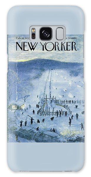 New Yorker February 18 1956 Galaxy Case