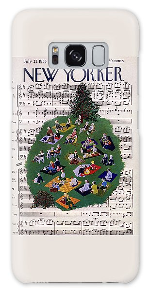 New Yorker July 23 1955 Galaxy Case
