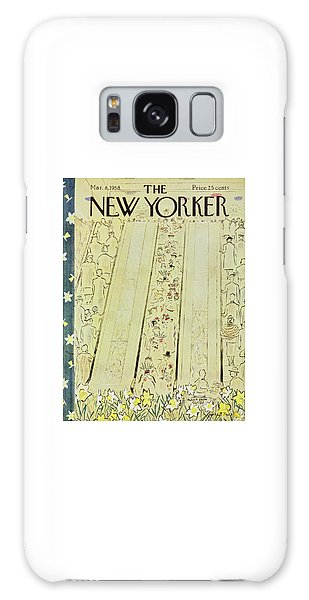 New Yorker March 8 1958 Galaxy Case