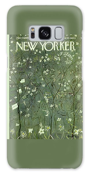New Yorker March 30 1957 Galaxy Case