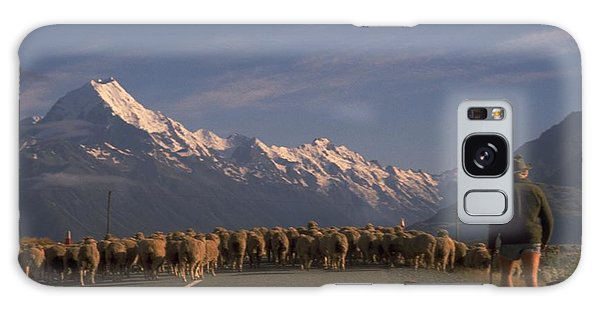 New Zealand Mt Cook Galaxy Case