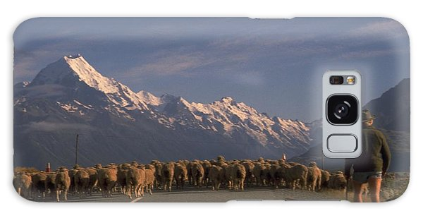 New Zealand Mt Cook Galaxy Case by Travel Pics