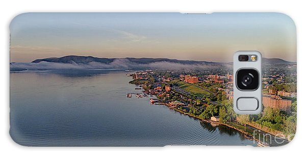 Newburgh Waterfront At Sunrise Galaxy Case