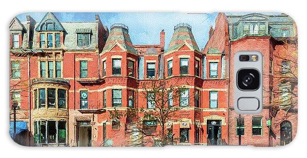 Newbury Street In Boston Galaxy Case