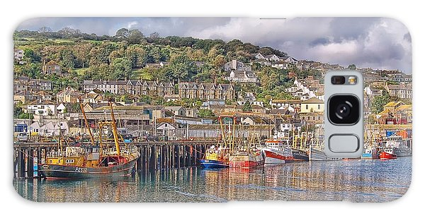 Newlyn Harbour Cornwall 2 Galaxy Case