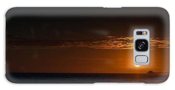 Newport Beach Sunset Galaxy Case