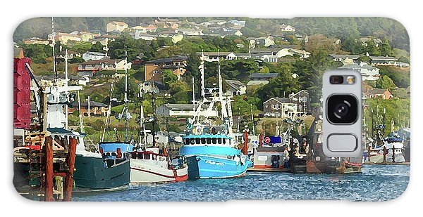 Newport Harbor Galaxy Case by James Eddy