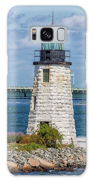 Newport Harbor Lighthouse Galaxy Case