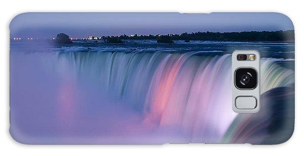 Niagara Falls At Dusk Galaxy Case