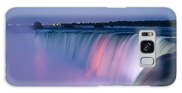 Niagara Falls At Dusk Galaxy Case
