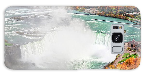 Niagara Falls Autumn Galaxy Case
