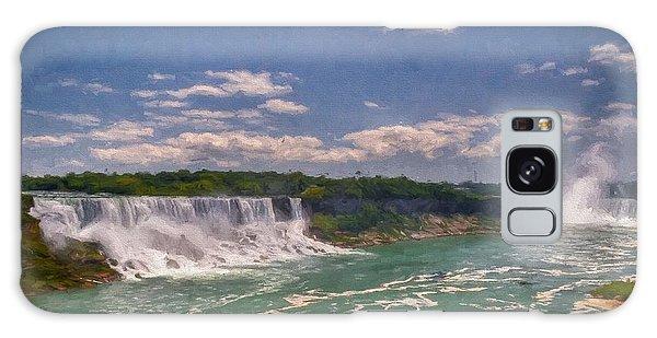 Fall In Niagara Falls Galaxy Case