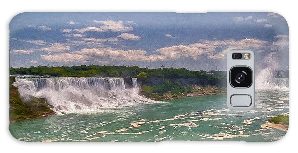 Fall In Niagara Falls Galaxy Case