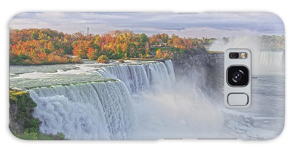 Niagara Falls In Autumn Galaxy Case