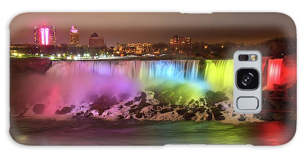Niagara Falls Rainbow Galaxy Case