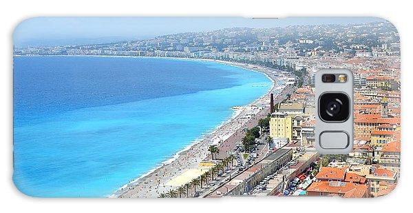 Nice France Coastline Galaxy Case