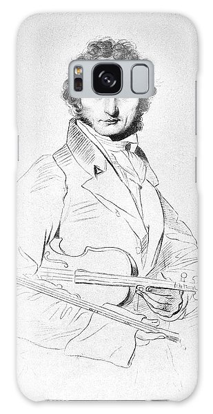 Violin Galaxy Case - Nicolo Paganini (1782-1840) by Granger