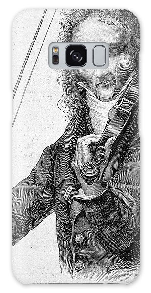 Violin Galaxy Case - Nicolo Paganini by Granger