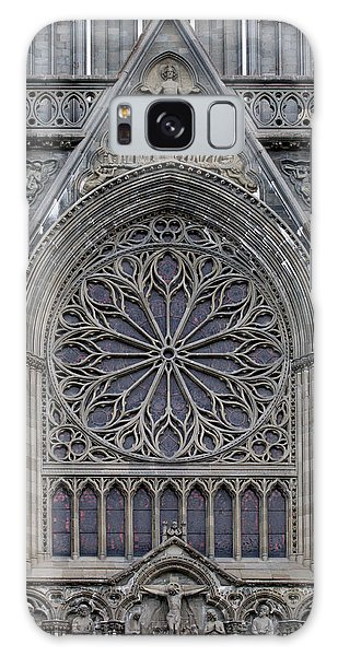 Nidaros Cathedral Stone Ornaments Galaxy Case