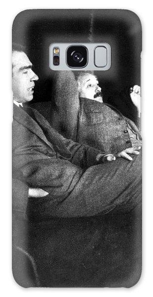 Niels Bohr And Albert Einstein Galaxy Case