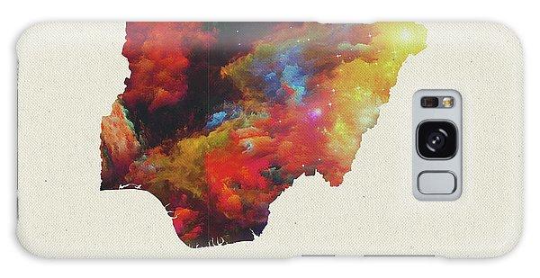 Nigeria Galaxy Case - Nigeria Watercolor Map by Design Turnpike