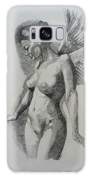 Night Angel Galaxy Case by Ray Agius