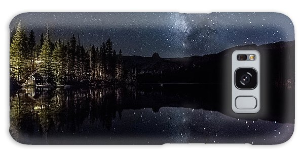 Night At Lake Mamie Galaxy Case