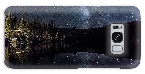 Night At Lake Mamie Galaxy Case